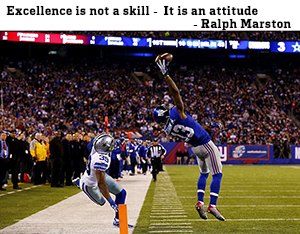 Excellence is not a skill - it is an attitude