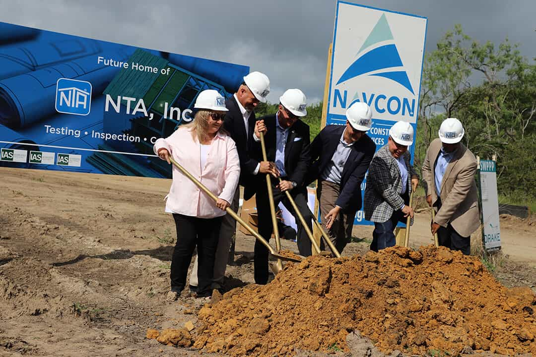 NTA ground breaking Bryon Texas