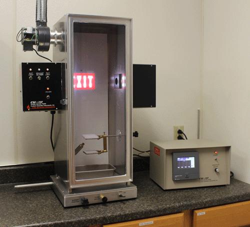 Smoke Development Chamber with vent