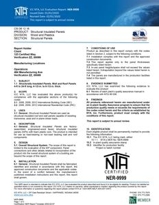 Understanding NER report