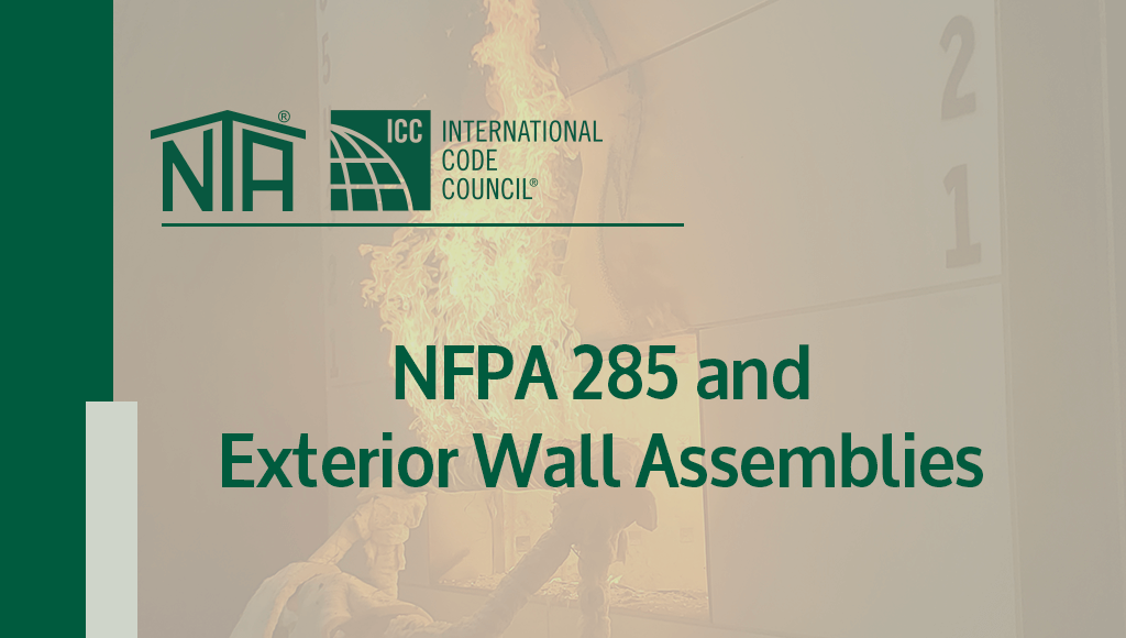 NFPA 285 and Exterior Wall Assemblies