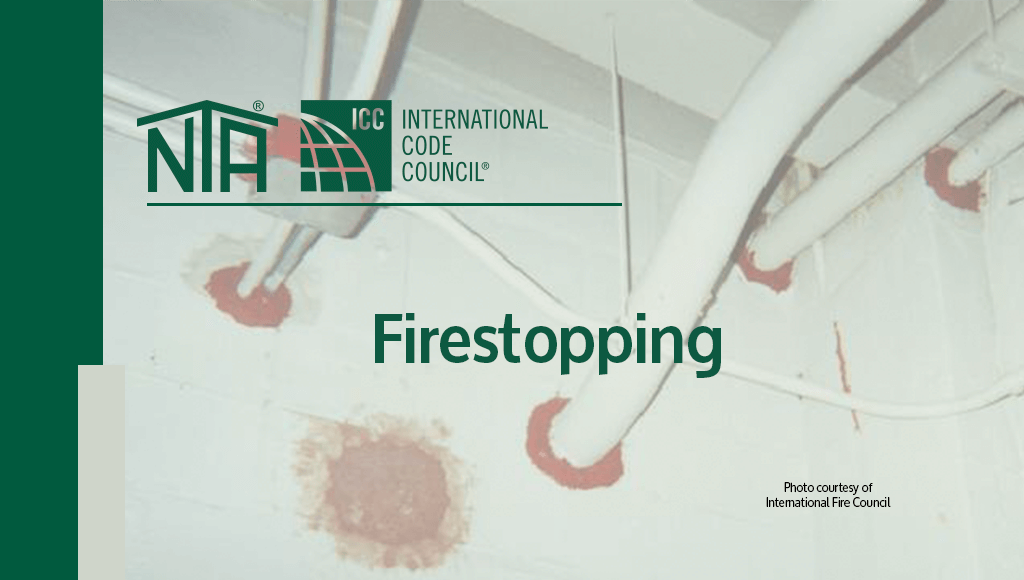 Firestopping ASTM E814 and UL147